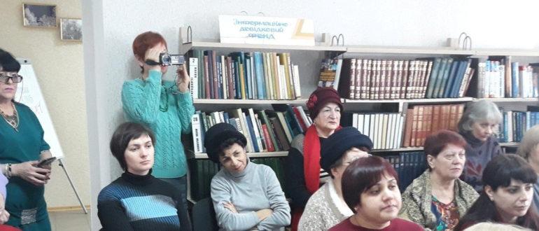Новое компьютерное оборудование в библиотеке Бахмута